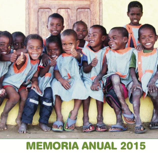 Disponible la memoria de actividades de 2015
