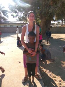 Raquel, voluntaria Aigua de Coco en Andorra