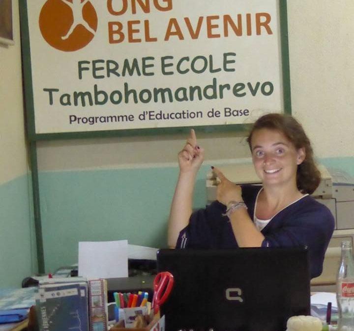 Entrevista a Nadja Tardiff, coordinadora de la Granja Escuela de Fianarantsoa