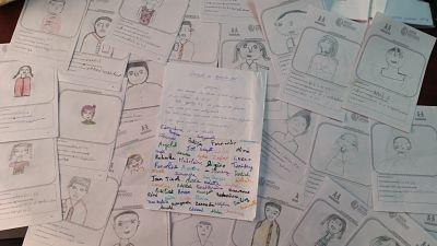 Cartas recibidas desde Madagascar para las aulas Namana de España