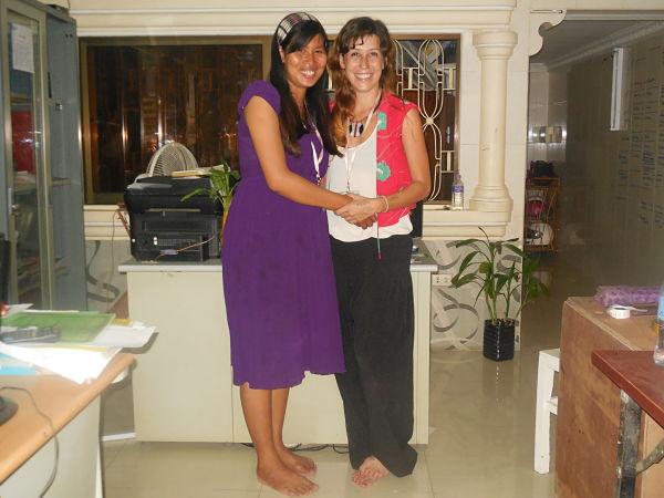 Nueva responsable en Camboya