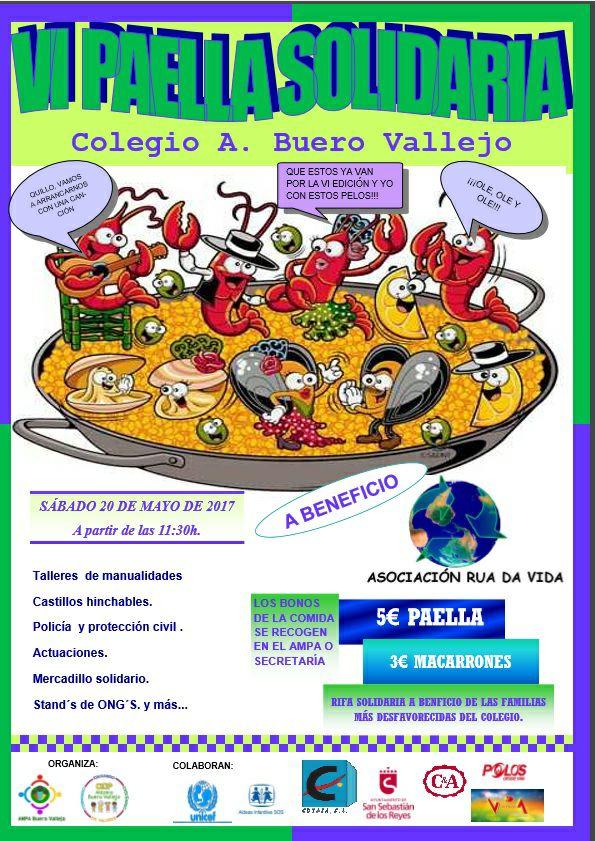 Participamos En La Fiesta Del Colegio Antonio Buero Vallejo San