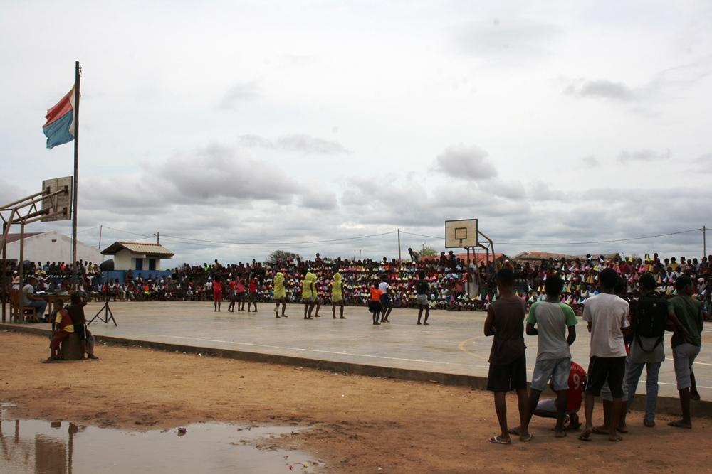 El recreo en las escuelas de Madagascar