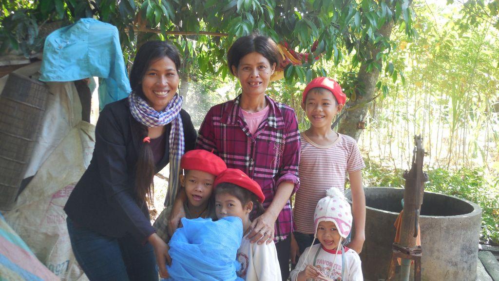 Thearout Chey, coordinadora de Agua de en Coco en Camboya
