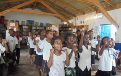 Namana se prepara para recibir a la Malagasy Gospel