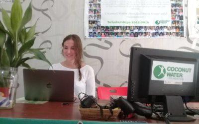 Entrevista a Marta López, voluntaria de Coconut Water Foundation de Camboya