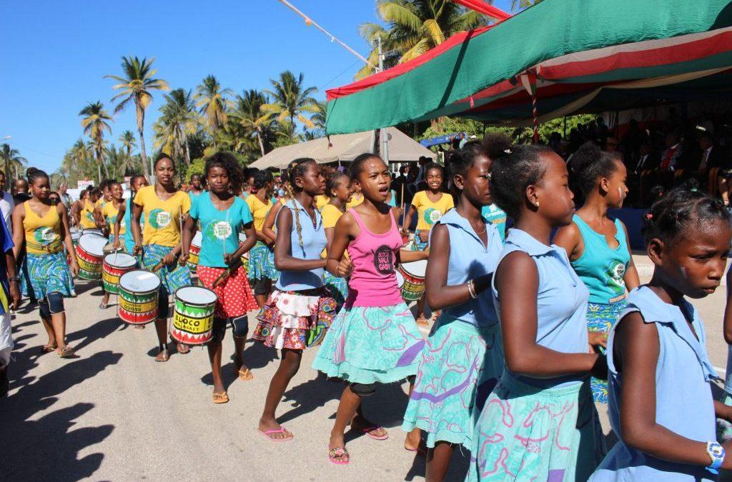 Agua de Coco celebra en Madagascar la fiesta de la independencia
