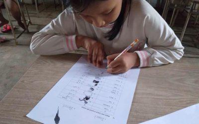 Examen final de ingles en Camboya