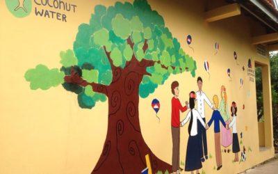 El voluntariado celebra el trabajo bien hecho en Camboya