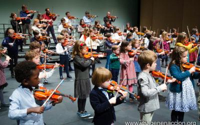 Los violines solidarios sonaron con fuerza para unir Pozuelo de Alarcón y Tulear