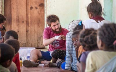 25 años, 25 historias: Romain Massy, estudiante en prácticas en Madagascar