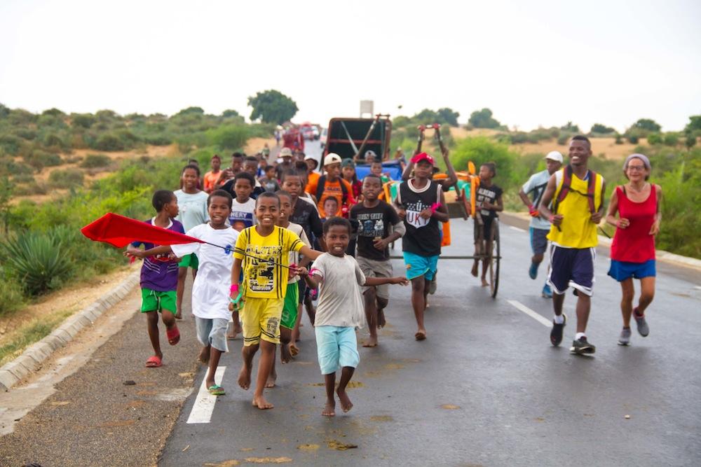 Nuevo éxito del reto ¡Pousse Me Baby! en Tuléar (Madagascar)