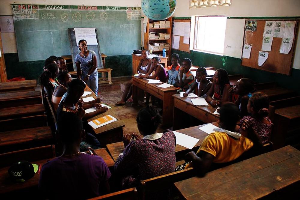 Formación en salud en Madagascar