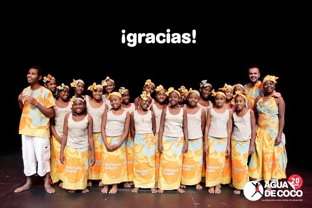 Informe final de la Gira Malagasy Gospel 2014
