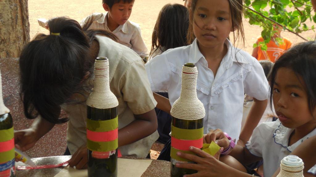 ¡En julio llegó el voluntariado de Francia a Camboya!