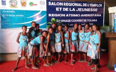 La Bloco Malagasy anime le salon de l'emploi et de la jeunesse