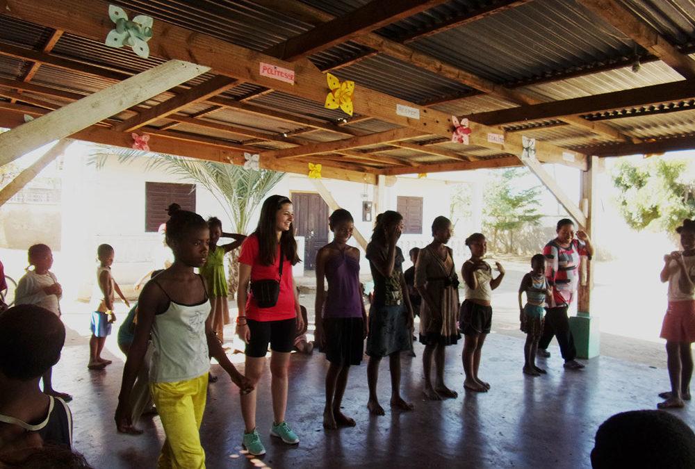 Los voluntarios de la ONG Bel Avenir