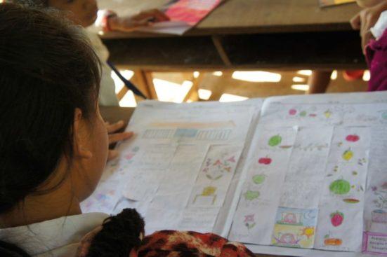 Creatividad periodística en las escuelas de Camboya