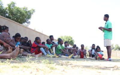 La Escuela de Deportes participa en la campaña de escolarización