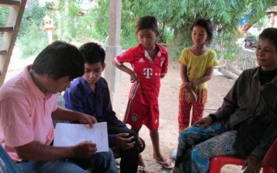 Entrevistas a las familias de nuestros beneficiarios
