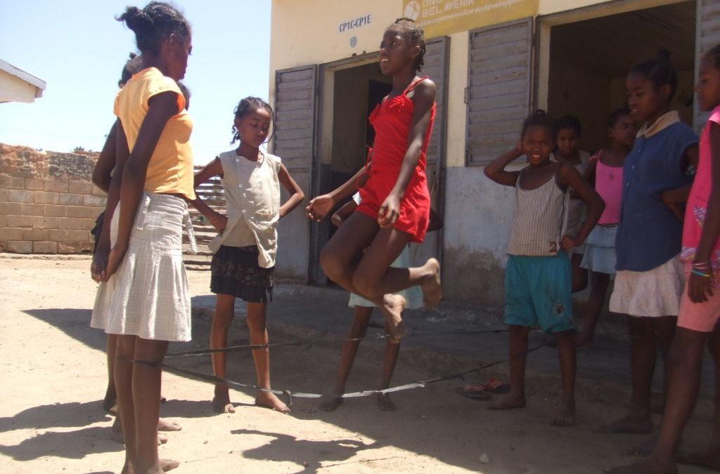 El recreo en nuestras escuelas de Madagascar