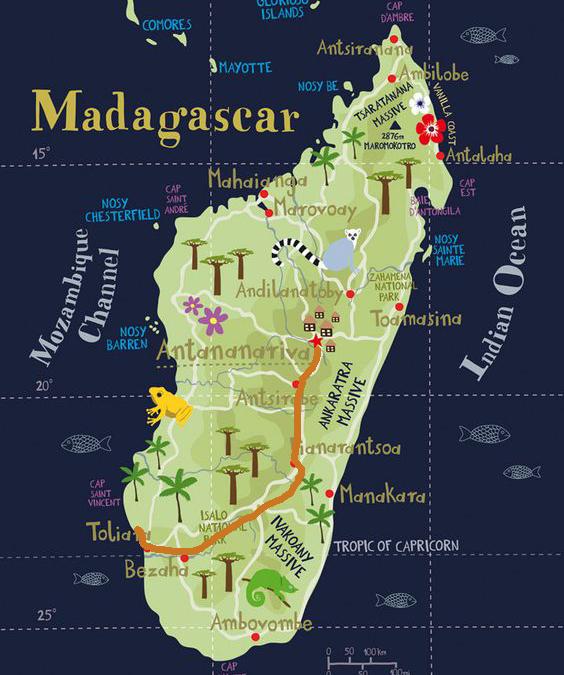 Este verano ven a vernos a Madagascar