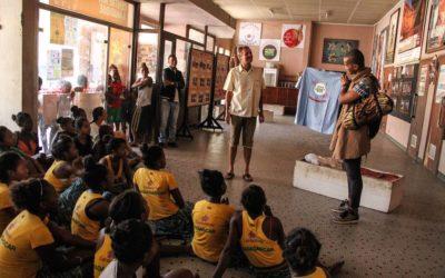 La Bloco Malagasy recibe la visita de Éric Raisina
