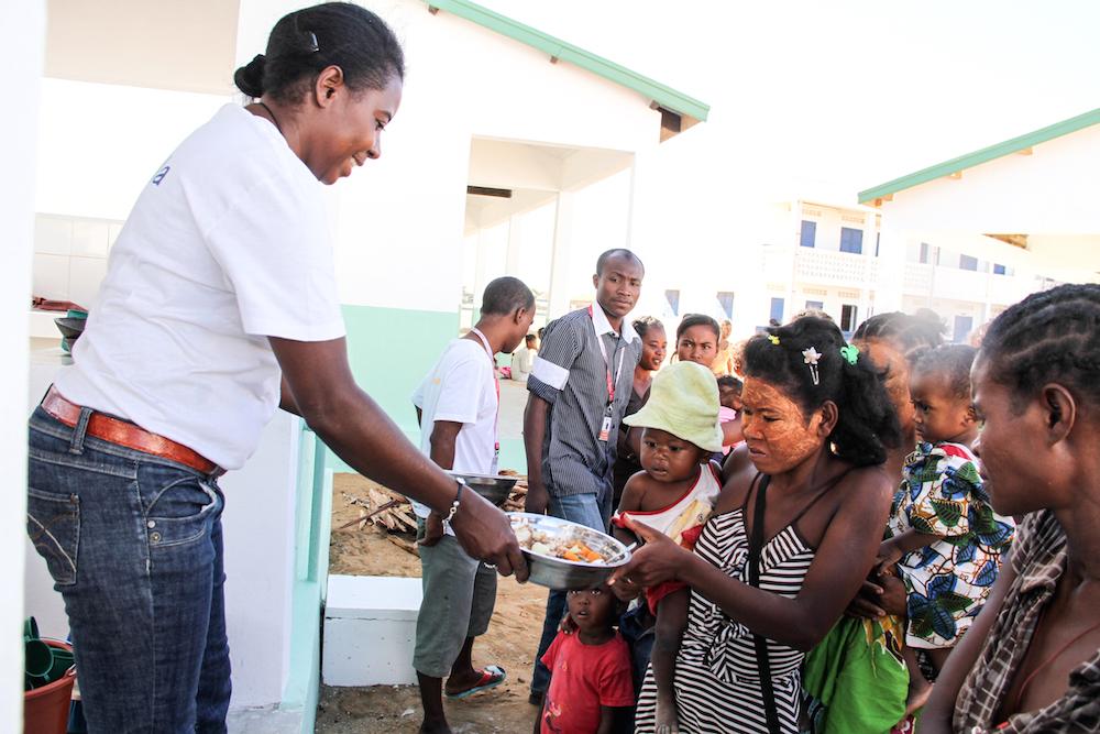 Personal sanitario para Madagascar
