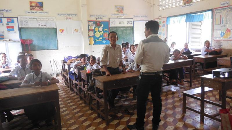 El proyecto Namana sigue en marcha en Camboya