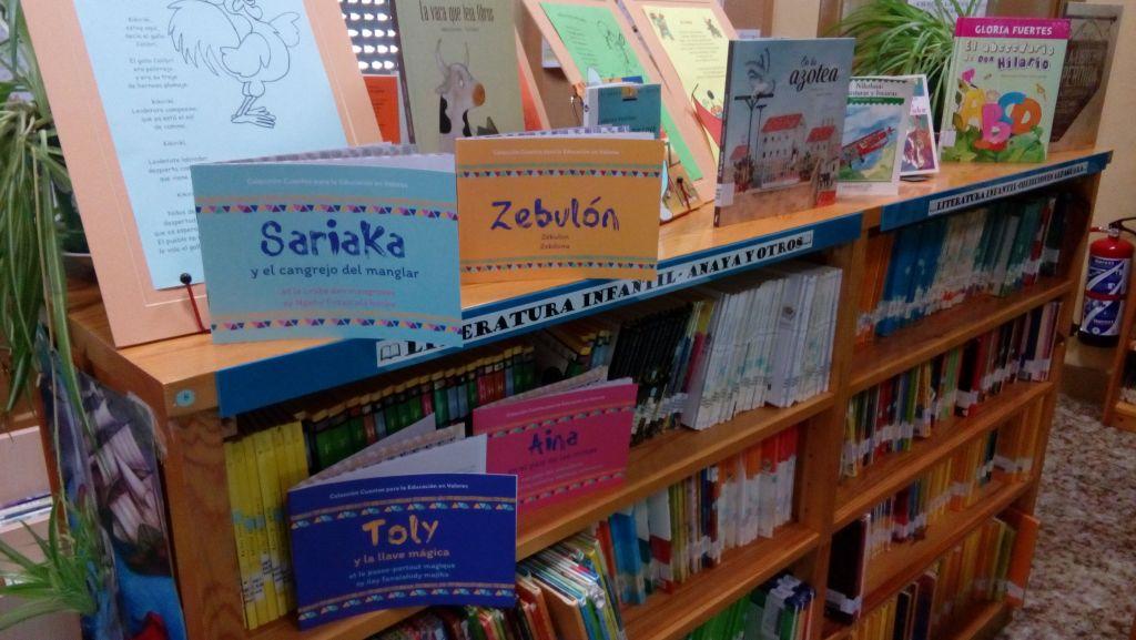 """""""Cuentos para la Educación en Valores"""", en las bibliotecas públicas de Granada"""