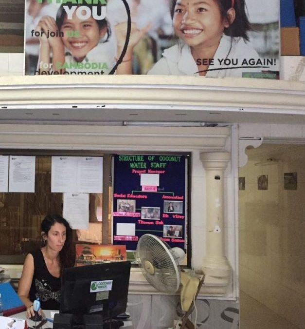 «Poder vivir durante un tiempo en un lugar como Camboya está siendo una experiencia única»