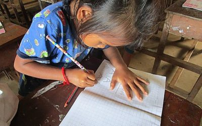 Aprender a escribir el alfabeto