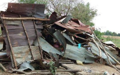 Camboya afectado por condiciones climáticas difíciles