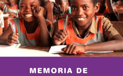 Publicamos  la memoria de actividades de 2019