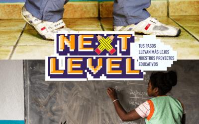¡Tus pasos llevan más lejos nuestros proyectos educativos!