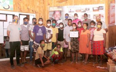 Reconocimiento a labor de prevención frente al COVID19 en Madagascar