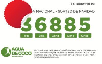 Ya puedes adquirir tus participaciones de lotería de Agua de Coco