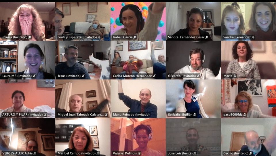 Celebramos la Gala de Navidad virtual llena de premios y recocimientos