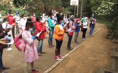 La Granja Escuela de Fianarantsoa reabre para los estudiantes con exámenes