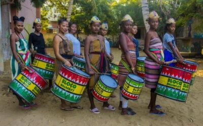 La BlocoMalagasy se vs de gira para sensibilizar sobre el cambio climático