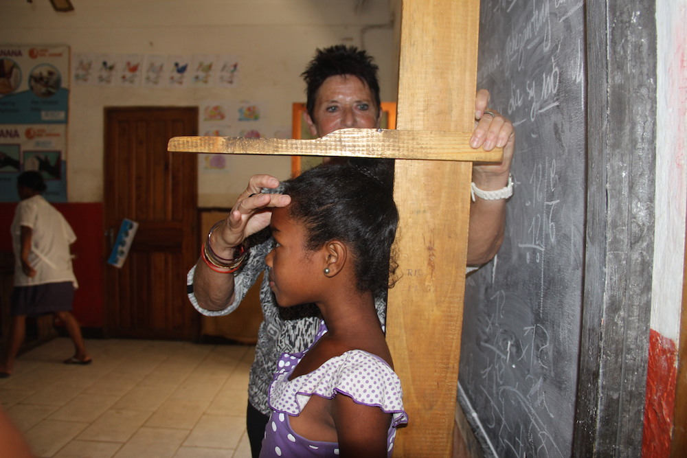 Deux jours de suivi au Centre d'Education Nutritionnelle sont consacrés au diagnostic de la malnutrition chez les enfants