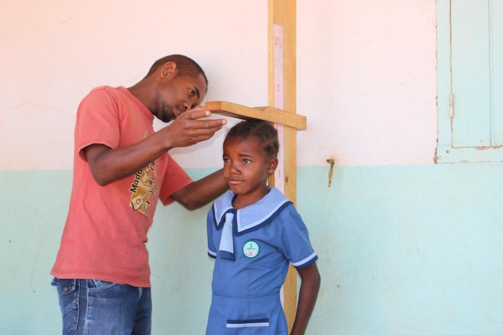 Les élèves de l'École des Saphirs sont suivis nutritionnellement