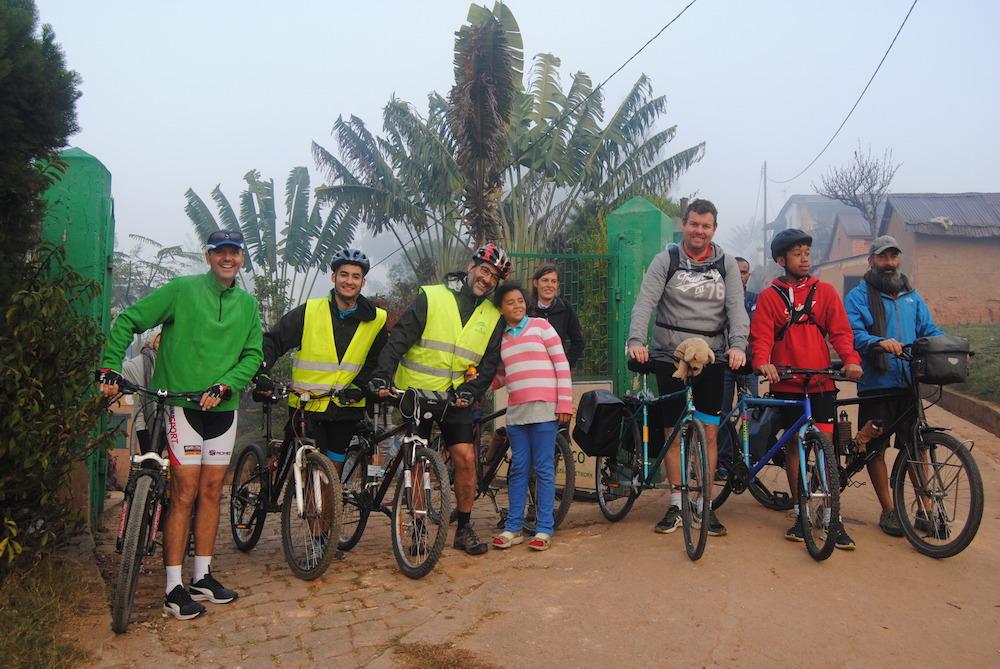 Les participants de Roul'mon coco découvrent Madagascar autrement