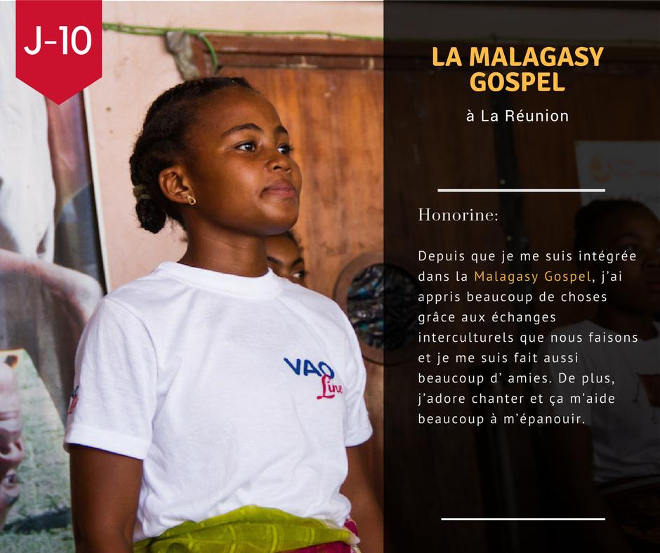 J-10 avant la départ de la Malagasy Gospel