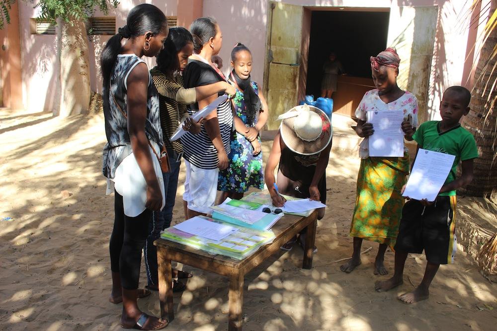 L'ONG Bel Avenir lance une campagne  de distribution des actes de naissance .